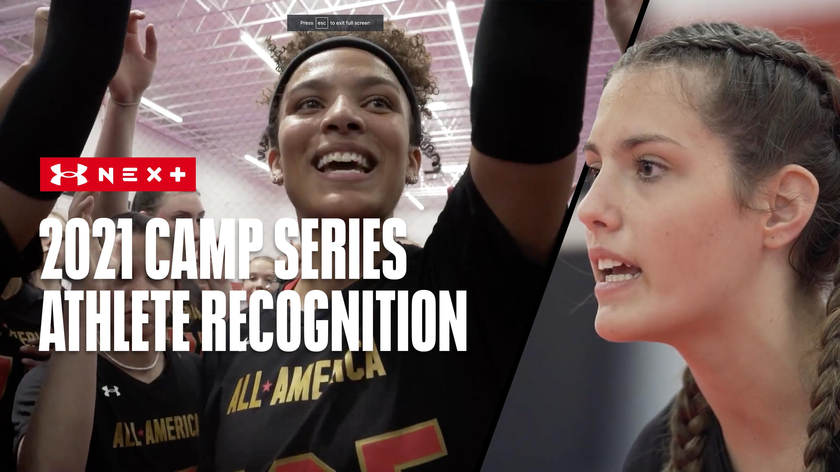 2021 Camp Series Athlete Recognition